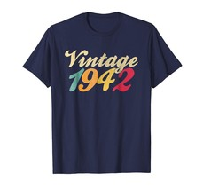 Brother Shirts - VINTAGE 1942 76 Year Old 76th Birthday Gift T-Shirt Gra... - $19.95+