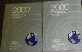 2000 FORD LINCOLN CONTINENTAL Service Shop Workshop Manual Set OEM - $76.23