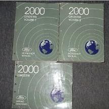 2000 Ford Windstar MINI VAN Service Shop Repair Manual Set W WIRING DIAG... - $118.80