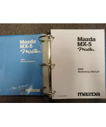 2000 Mazda Miata MX5 MX 5 Service Repair Shop Manual SET FACTORY OEM BOO... - $445.50