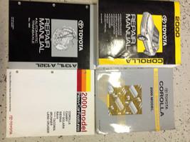 2000 Toyota Corolla Service Repair Shop Manual Set Oem W Ewd + Transaxle + Featu - $287.09