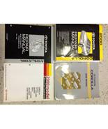 2000 TOYOTA COROLLA Service Repair Shop Manual Set OEM W EWD + TRANSAXLE... - $287.09