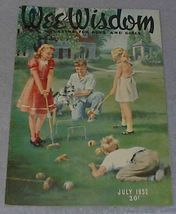 Wee Wisdom July 1952 Children's Magazine - $6.00