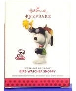 Hallmark 2013 Bird Watcher Snoopy Spotlight On Peanuts Series Christmas Ornament - $14.80