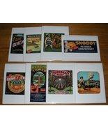 Set 8 Note Cards Vintage Florida Fruit Crate Label Designs 8 - $7.99
