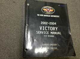 2002 2003 2004 Victory Classic Cruiser Touring Cruiser  Service Shop Manual - $130.89