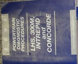 2002 DODGE 300M INTREPID CHRYSLER CONCORDE LHS Powertrain Diagnostic Man... - $12.87