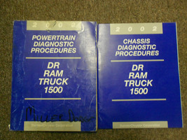 2002 DODGE DR Ram Truck 1500 Body Chassis Diagnostic Procedure Manual SE... - $29.69