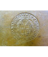 English Greek Lexicon, 1856 First Edition, Marischal College Aberdeen, NR - $71.24
