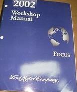 2002 FORD FOCUS Service Shop Repair Workshop Manual BRAND NEW 2002 - $207.90