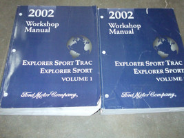 2002 Ford Explorer Sport Trac Service Shop Repair Manual Set FACTORY 02 ... - $131.99