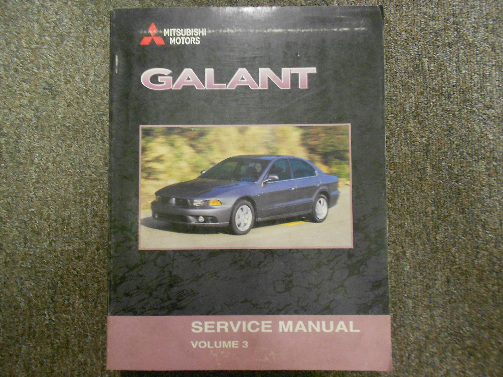 2002 MITSUBISHI Galant Service Manual FACTORY OEM VOLUME 3 FACTORY OEM BOOK 02 image 1