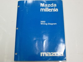 2002 Mazda Millenia Electrical Wiring Diagram Manual FACTORY OEM BOOK US... - $27.67