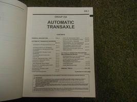 2002 MITSUBISHI Galant Service Manual FACTORY OEM VOLUME 3 FACTORY OEM BOOK 02 image 5