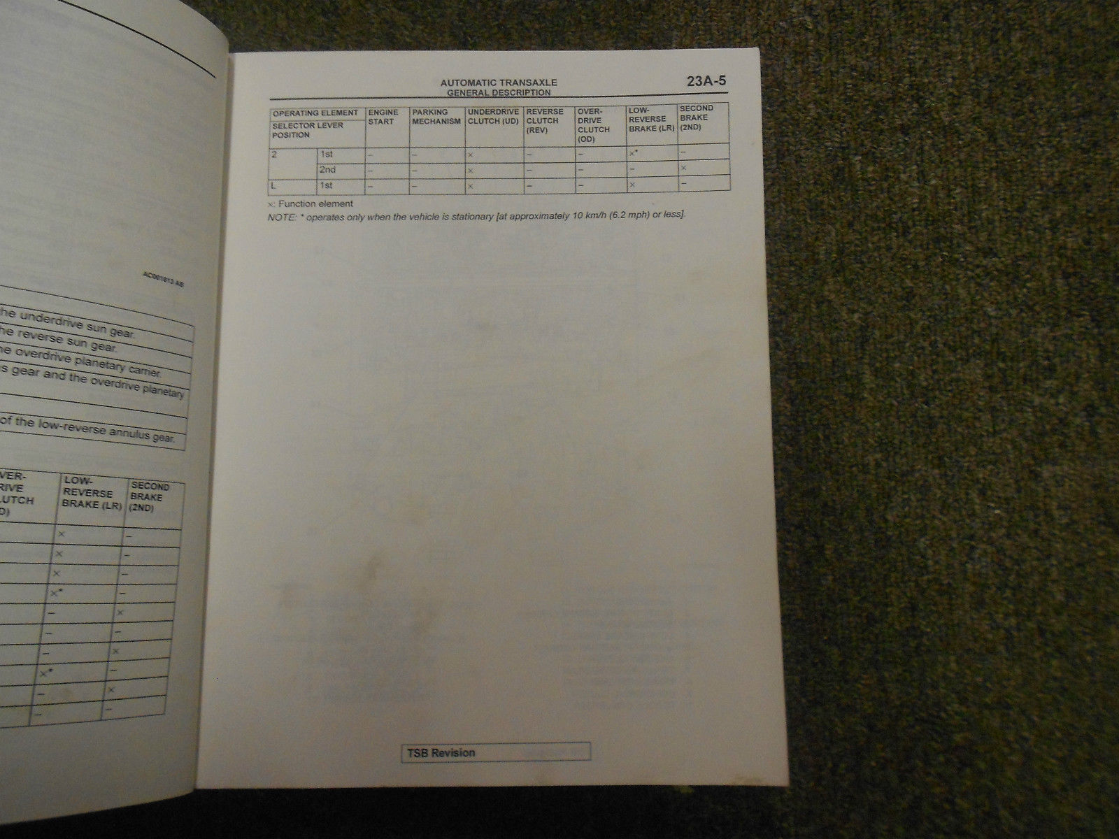 2002 MITSUBISHI Galant Service Manual FACTORY OEM VOLUME 3 FACTORY OEM BOOK 02 image 7