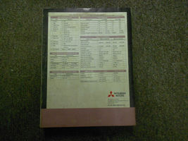 2002 MITSUBISHI Galant Service Manual FACTORY OEM VOLUME 3 FACTORY OEM BOOK 02 image 12