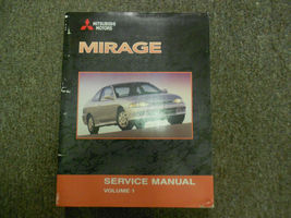 2002 MITSUBISHI Mirage Service Repair Shop Manual VOL 1 FACTORY OEM BOOK 02 - $45.11