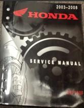 2003 2004 2005 2006 2007 2008 HONDA CRF150F CRF 150 Service Repair Shop Manual x - $108.00