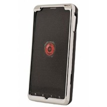 Black Silicone Snap On Cover for Motorola Droid X2 Phone New & Sealed #D78 - $9.99