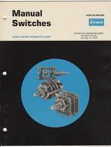 LEDEX Catalog MS-5200: Manual Switches ~ Vandalia, Ohio - $9.89