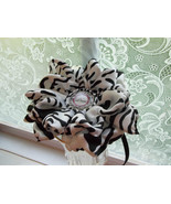 BABY GIRL BLACK & WHITE ANIMAL PRINT HEADBAND (ALL SIZES) - $7.99