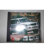 2003 MITSUBISHI MONTERO SPORT Service Repair Manual CD FACTORY OEM NEW 03 - $227.65
