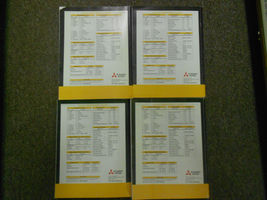 2003 MITSUBISHI Lancer Service Repair Shop Manual FACTORY OEM 4 VOL SET BOOK x image 12
