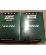 2004 CHRYSLER CROSSFIRE Service Shop Repair Manual Set BRAND NEW FACTORY... - $272.25