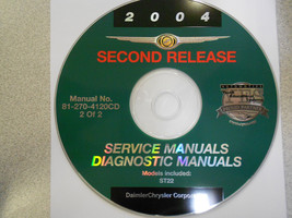 2004 CHRYSLER SEBRING STRATUS COUPE Service Man... - $31.78
