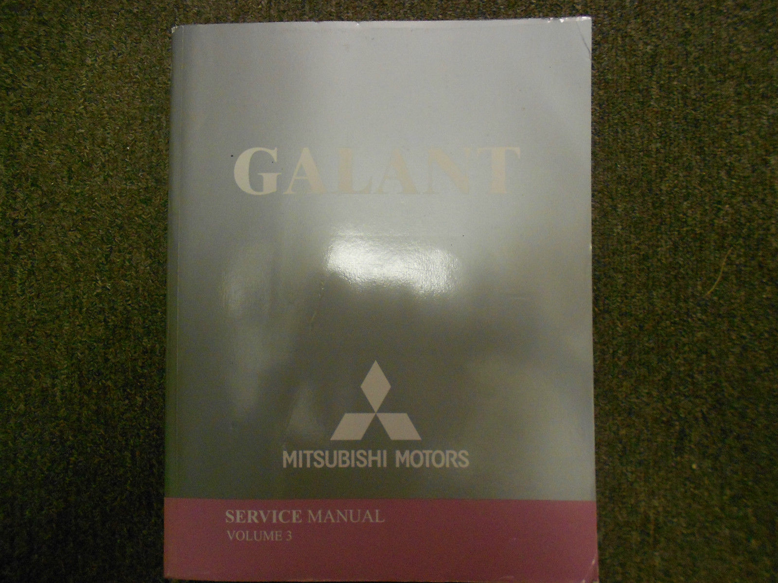 2004 MITSUBISHI Galant Service Repair Shop Manual VOL 3 OEM 04 FACTORY OEM 04