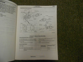 2004 MITSUBISHI Galant Service Repair Shop Manual VOL 3 OEM 04 FACTORY OEM 04 image 5