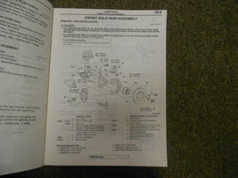 2004 MITSUBISHI Galant Service Repair Shop Manual VOL 3 OEM 04 FACTORY OEM 04 image 8
