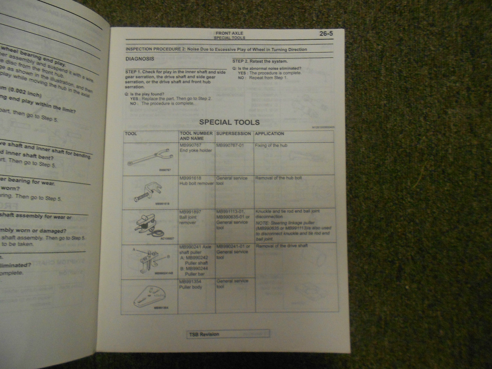 2004 MITSUBISHI Galant Service Repair Shop Manual VOL 3 OEM 04 FACTORY OEM 04 image 6
