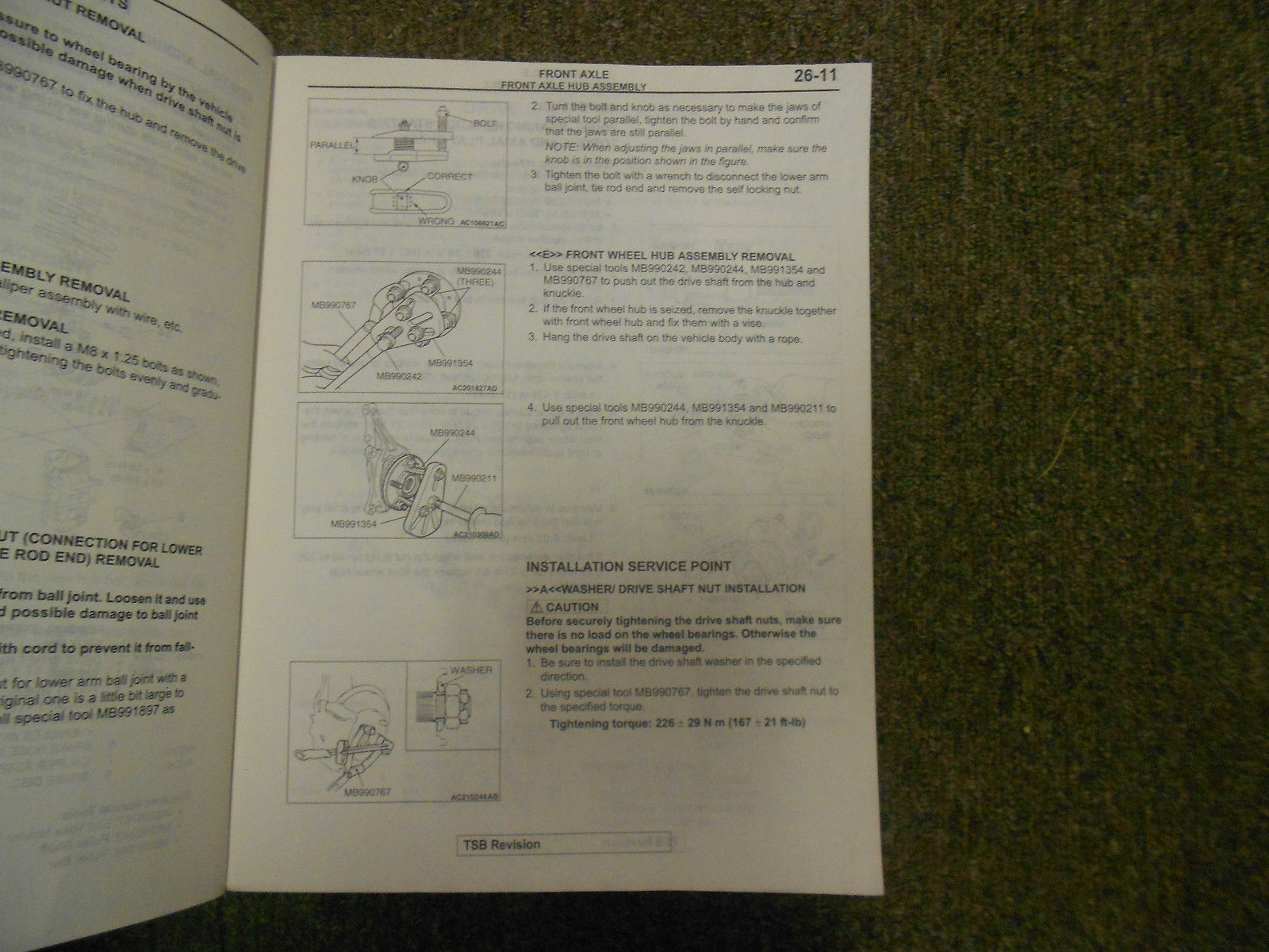 2004 MITSUBISHI Galant Service Repair Shop Manual VOL 3 OEM 04 FACTORY OEM 04 image 9
