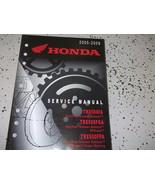 2005 2006 2007 2008 2009 Honda TRX500FA TRX500FGA FPA Service Shop Repair Manual - $128.70