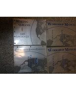 2005 FORD Lincoln LS L S Service Shop Repair Workshop Manual Set OEM 05 ... - $168.25