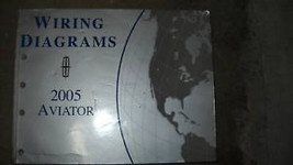 2005 Lincoln Aviator Electrical Wiring Diagram Service Shop Manual EWD 0... - $59.39