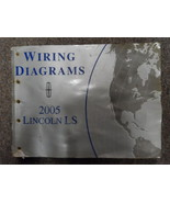 2005 Lincoln LS Electrical Wiring Diagram Manual FACTORY OEM BOOK WATER ... - $7.87