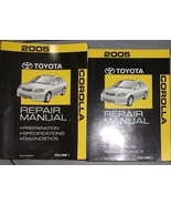 2005 TOYOTA COROLLA Service Shop Repair Manual Set OEM DEALERSHIP BRAND NEW - $316.75