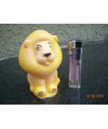 Vintage USSR Soviet Russian Rubber Toy Lion About 1974 - $14.84
