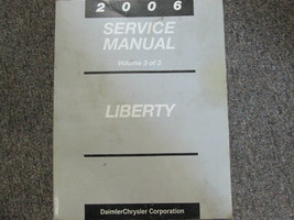 2006 Jeep Liberty Service Shop Repair Manual Volume 3 Only Oem Factory Book 06 - $49.45