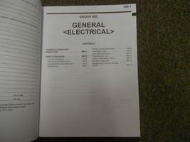 2006 MITSUBISHI Endeavor Electrical Supplement Service Repair Shop Manual OEM 06 image 4