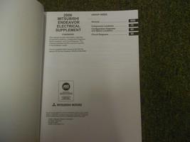 2006 MITSUBISHI Endeavor Electrical Supplement Service Repair Shop Manual OEM 06 image 2