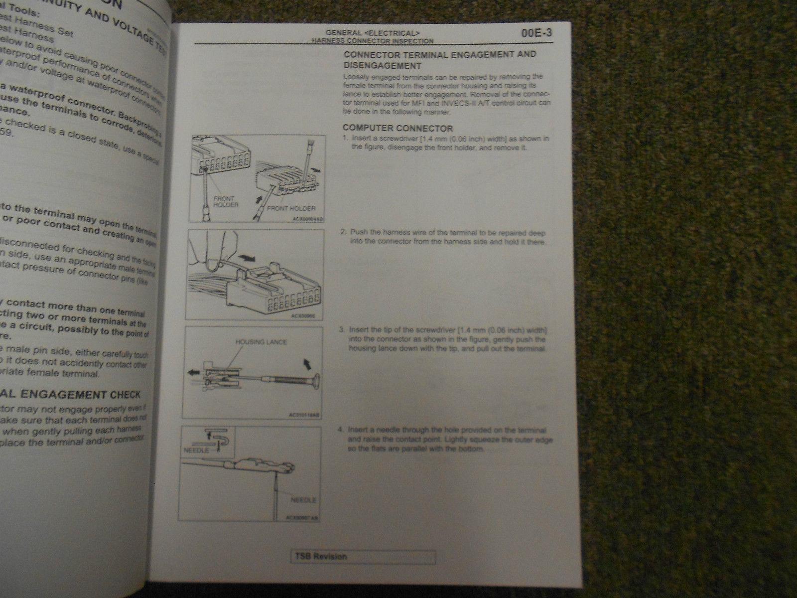 2006 MITSUBISHI Endeavor Electrical Supplement Service Repair Shop Manual OEM 06