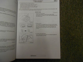 2006 MITSUBISHI Endeavor Electrical Supplement Service Repair Shop Manual OEM 06 image 7