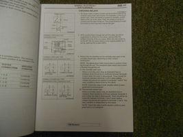 2006 MITSUBISHI Endeavor Electrical Supplement Service Repair Shop Manual OEM 06 image 9