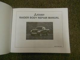 2006 MITSUBISHI RAIDER TRUCK Body Service Repair Shop Manual FACTORY OEM BOOK 06 image 2