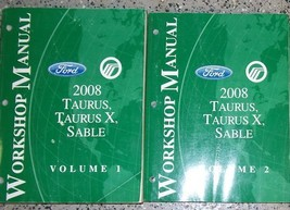 2008 Ford Taurus X Mercury Sable Service Shop Repair Manual Set OEM BRAN... - $198.99