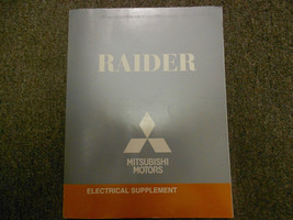2008 MITSUBISHI Raider Electrical Supplement Service Repair Shop Manual ... - $22.17