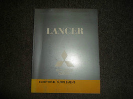 2008 MITSUBISHI Lancer Electrical Supplement Service Repair Manual OEM BOOK 08 - $15.83